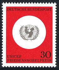 Germany 967, MNH. UNICEF - Nobel Peace prize, 1966
