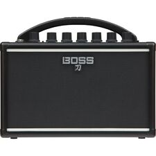 "BOSS Katana Mini 7W 1x4"" Portable Battery-Powered Guitar Combo Amplifier Amp"