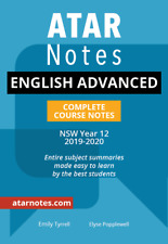 ATAR Notes HSC English Advanced Year 12 Notes (NEW SYLLABUS)