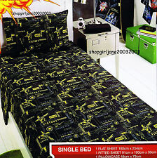 Star Wars Clone Wars - Single/US Twin Bed - Fitted Sheet Set