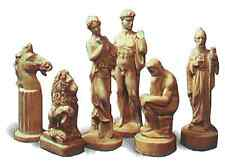 9 x SUPERCAST 0017 CLASSICAL COLLECTORS CHESS  SET REUSABLE MOULDS / MOLDS