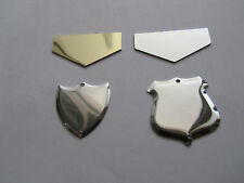 YEARLY SHIELD PLAQUES FOR ANNUAL SHIELD / TROPHY FREE ENGRAVING 20 / 30  LETTERS