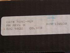 EST / IRC-3 M-MUX ( MINI MUX ) COMMUNICATIONS CARD