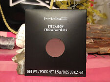 "MAC Eye Shadow REFILL ""SWISS CHOCOLATE "" NEW IN BOX authentic from the mac store"