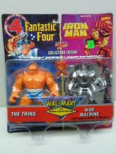 Fantastic Four Iron Man ToyBiz THE THING WAR MACHINE WalMart action figures 1995