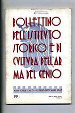 BOLLETTINO IST.STORICO/CULTURA ARMA DEL GENIO#Anno XXXIII - N.3#Lugl./Sett. 1967