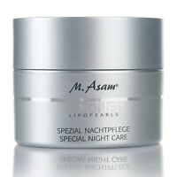 M. ASAM VINOLIFT LIPOPEARLS SPECIAL NIGHT CARE CREAM 50ML. Anti-Aging Face Care