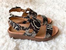 Vionic Louise Platform Snake Sandal 6.5 New