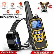 Petrainer PETDBB-2 Waterproof and Rechargeable Dog Training Collar