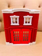 Green Toys Fire Station Playset.