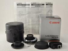 Canon Lens Converter FD-EOS New and Original