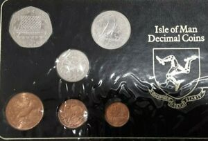 1980 Isle of Man 6 Coin Uncirculated Set
