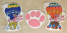 Lot-3 Vintage 1984 Pink Panther Thick Cardboard Foam Wall Signs United Artists