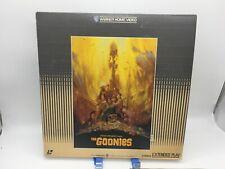 """The Goonies"" Japanese 10JL-11474 Laserdisc LD - Steven Spielberg"