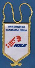 HKS Hrvatski košarkaški savez, Croatian basketball Federation, official flag !!