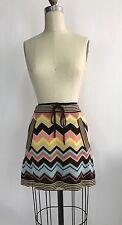 MISSONI FOR TARGET Vintage Style CIRCUS Striped Pink Pocket Mini Skirt Sz XS