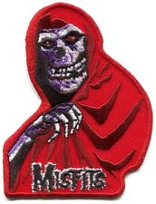 THE MISFITS crimson ghost/red robe EMBROIDERED IRON-ON PATCH Free Shipping skull
