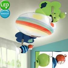 LED Kinder Glas Decken Strahler Regenbogen Lampe Spiel Zimmer Spots beweglich