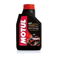 Aceite Motor Moto Motul 7100 4T 10W30 100% Sintético ESTER MA2 - 10 litros lt