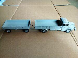 1/43 Marklin 8009 Camion Krupp Altopiano Südwerke Lastwagen camion e rimorchio