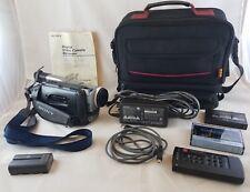 Sony DCR-TRV310 Digital-8 Hi-8 8mm Handycam Camcorder Bundle Video Transfer