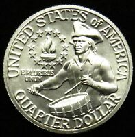 """1976 S Washington Deep Cameo Quarter """"PROOF"""" 40% Silver US """"IMPERFECT"""" Coin"""