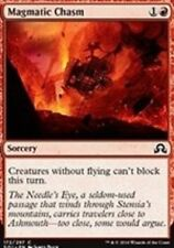 Magmatic Chasm NM X4 Shadows Over Innistrad MTG Red Common