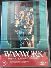 WAXWORK DVD R4 - Cool Rare 80s creature feature Horror Slasher Dana Ashbrook