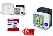 Digital Omron Wrist Cuff Arm Blood Pressure Monitor Meter Automatic Health New!
