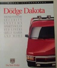 1996 Dodge DAKOTA  Accessories  Sales Brochure VINTAGE SURVIVOR