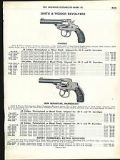 1918 ADVERTISEMENT Smith & Wesson Revolvers Military Police Model Target