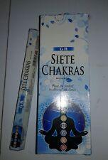 1 por  20 stick incienso  siete chakras  sac /gr