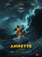 Annette -  Affiche cinema 40X60 - 120x160 Movie Poster