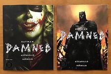 BATMAN DAMNED # 2 2018 Bermejo Main + Jim Lee Variant Set 1st Prints  DC NM+