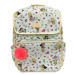 New Disney Store Animators Collection Princess Backpack School Bag