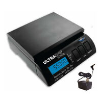 My Weigh UltraShip 55 Postal Scale (Black, 55 Lb Capacity) with Power Supply