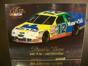 Rare Derrike Cope #12 Mane 'N Tail SkyBox Flair 1996 Card #63