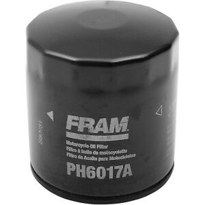 Fram - PH6017A - Oil Filter, Standard Kawasaki,Polaris,Yamaha,Triumph,Harley-Dav