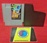 T & C Surf Design - Nintendo NES Game, Manual, Dust Cover, Rare Tested Authentic