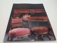 Sotheby's Auction Catalog 19th Century Furniture Works of Art September 12 1995