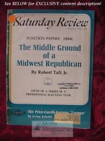 Saturday Review August 22 1964 ROBERT TAFT BENJAMIN BRITTEN ELMO ROPER