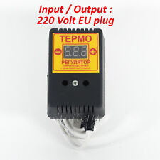 Electro Thermoregulator Thermostat HEAT CONTROLLER for bee hive incubator 2kW