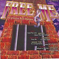 Free me-Die größten Rock Hymnen (1993, K-tel) Boston, Toto, Loverboy, Joh.. [CD]