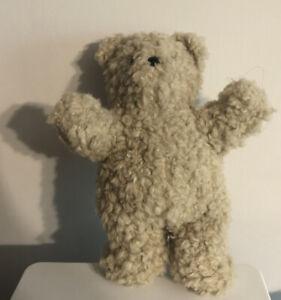"Vintage 1985 North American Bear Co 10"" Oatmeal Stuffed Bear Plush Squeak!!"