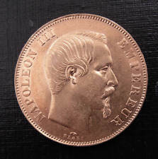 France 1857A Gold 50 Francs Circulated Napoleon III