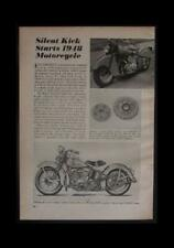 1948 Harley Davidson 74 OHV & Indian Clubman pictorial