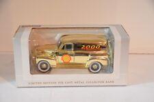 NIB - SpecCast 1952 Chevrolet Panel Truck Shell Oil Diecast Bank Millennium 2000
