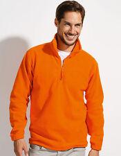 Normale Herren-Kapuzenpullover & -Sweats mit Reißverschluss aus Fleece