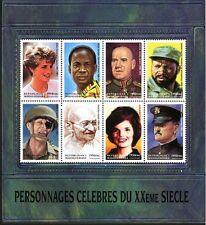 MADAGASCAR FAMOUS PEOPLE STAMPS - GANDHI - DIANA - NKRUMAH - ZUKOV - MACHEL- MNH