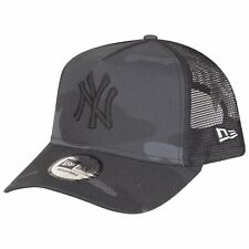 New Era Adjustable Trucker Cap - New York Yankees dark camo